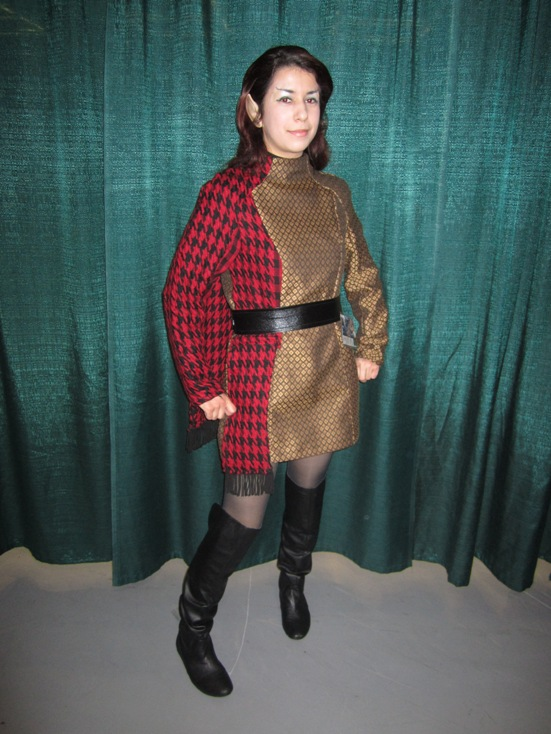 Me in my final Romulan Commander costume at Emerald City Comicon 2011